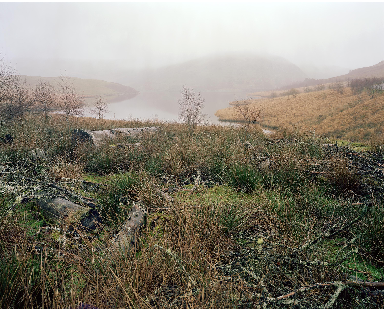 Wales Wet Desert Photograph