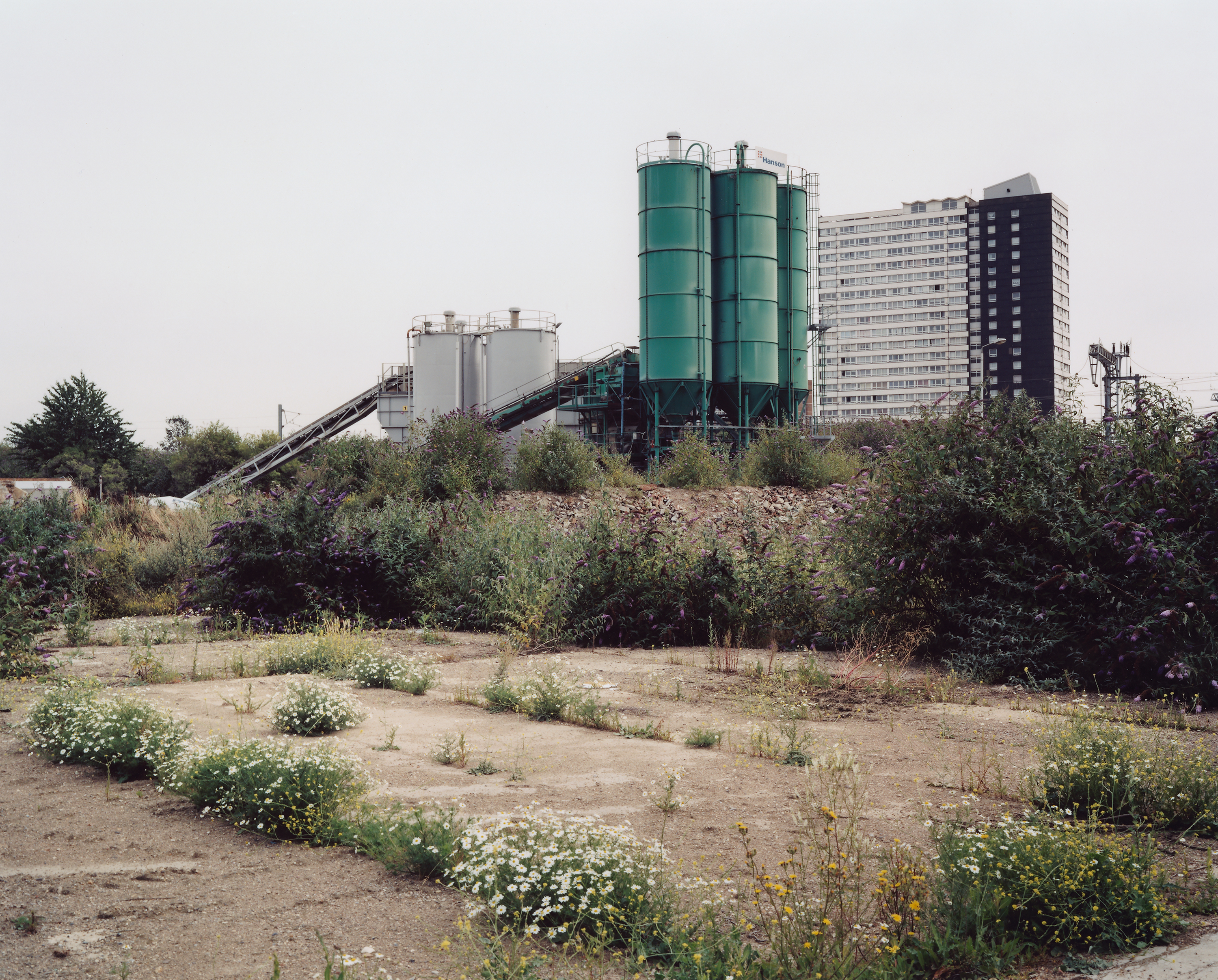 Contemporary Art Photographs of London Brownfields