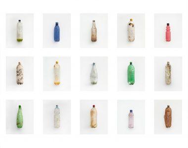 Bottle Grid, 3x5, Pembrokeshire,  Wales, 2012  Digital prints, 530 x 623mm
